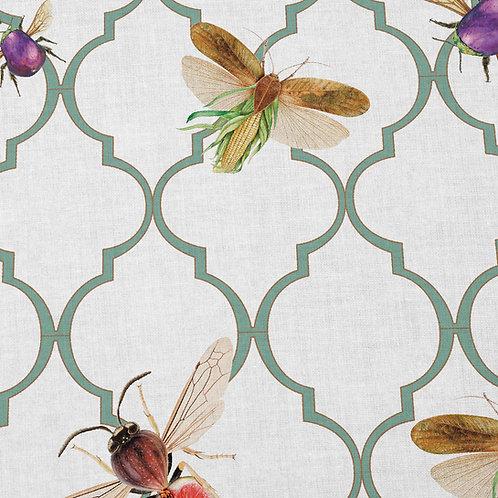 Tela para tapizar de insectos