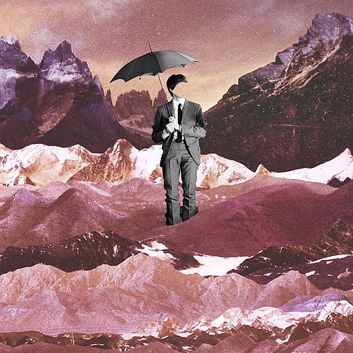 Paul in the mountains with diamonds
