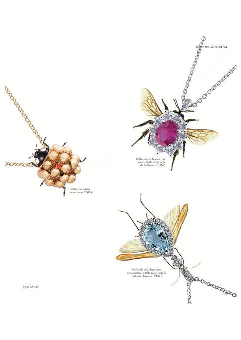 Colaboracion Pilsferrer con Rabat insectos de joyas