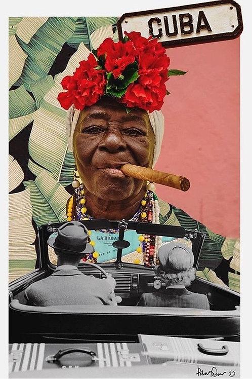 Collage de inspiración en Cuba