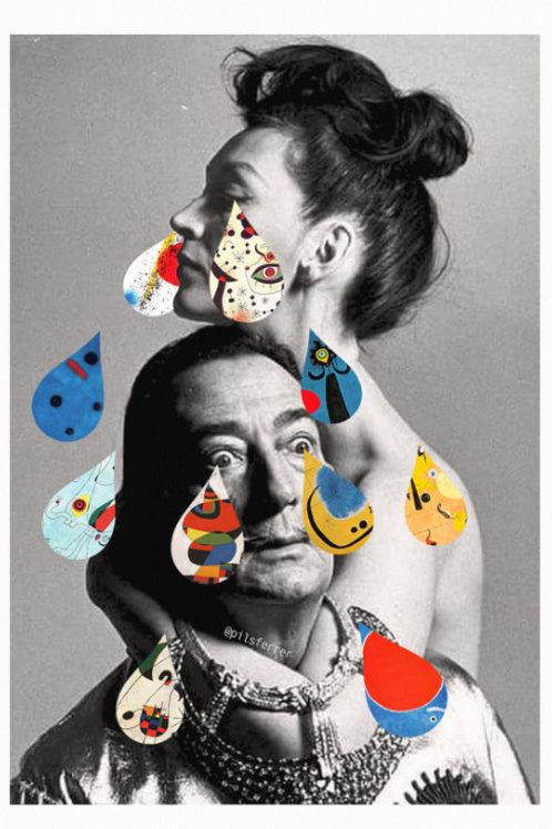 Cuadro para casa de Gala y Dalí