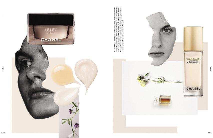 Colaboración de Pilsferrer con Chanel para la revista Vanidad II