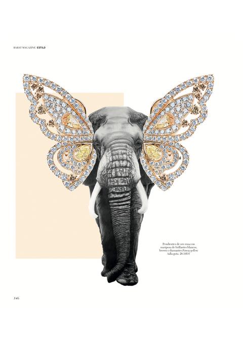 Colaboracion Pilsferrer con Rabat Elefante con orejas de joya