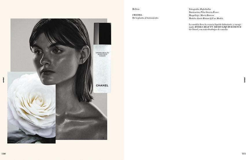 Colaboración de Pilsferrer con Chanel para la revista Vanidad I