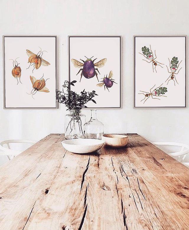 Collage para decorar comedores y salones