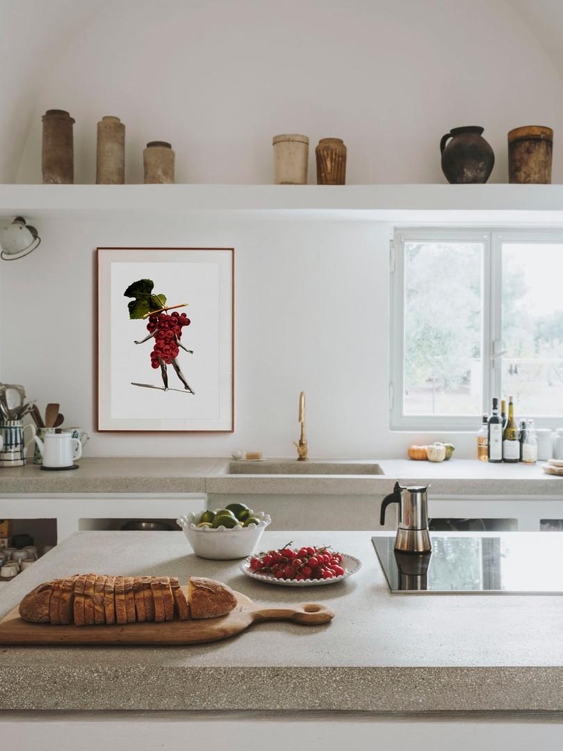 collage para amantes del vino