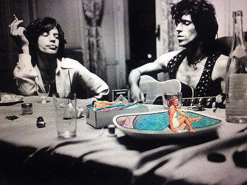 Cuadro original para casa de Rolling Stones