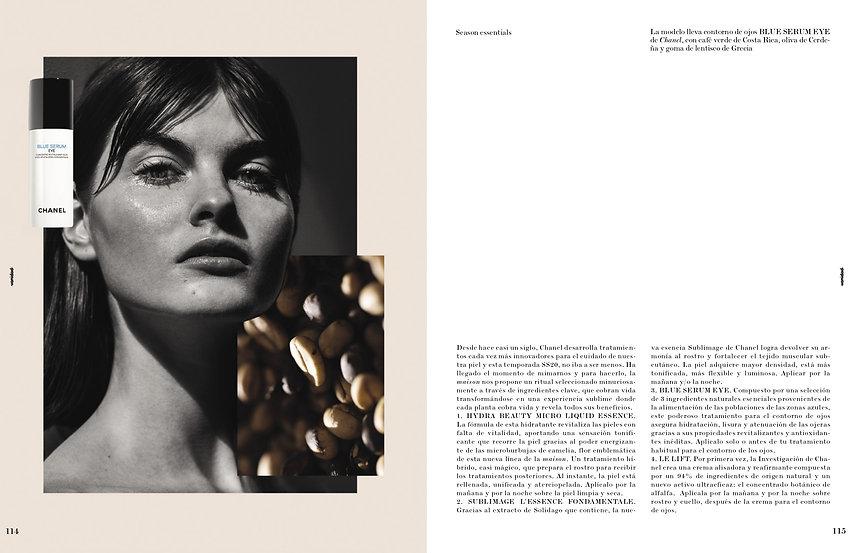 Colaboración de Pilsferrer con Chanel para la revista Vanidad III
