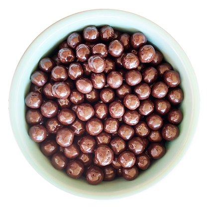 Quinoa crispy con chocolate sin azúcar
