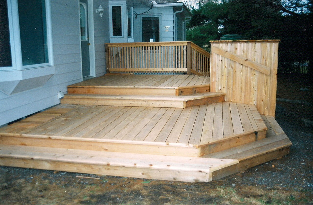 Multi-Level Deck & Storage Shed