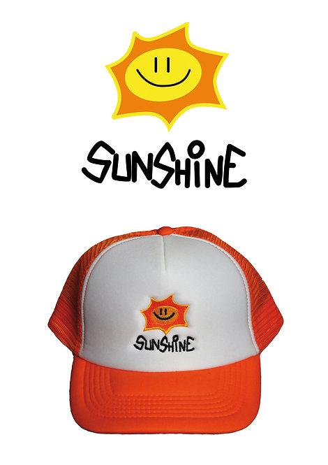 Snapback Vintage Logo Bianco Arancione