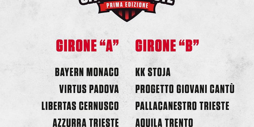"""PRIMO TORNEO """"CITTA' DI TRIESTE"""""""