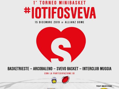 DOMENICA 15 DICEMBRE IL PRIMO TORNEO #IOTIFOSVEVA