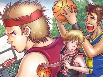 Basket Case #1: il fumetto Shockdom sul basket supervisionato dal giocatore Andrea Pecile