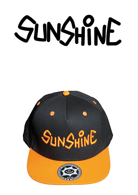 Snapback Sunshine Arancione