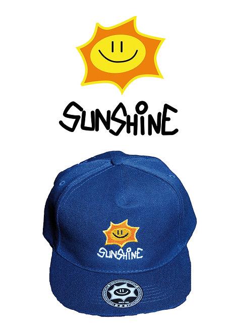 Snapback Logo Blu