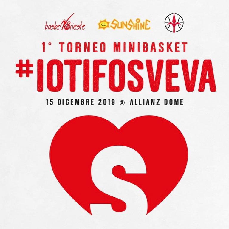 1° TORNEO MINIBASKET #IOTIFOSVEVA