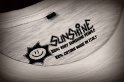 Dettaglio etichetta Sunshine tshirt