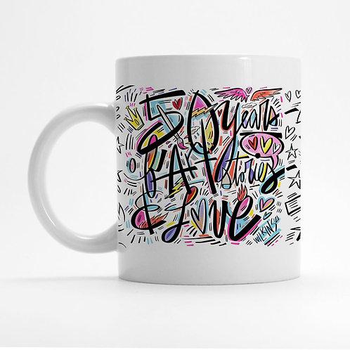50th Anniversary Mug