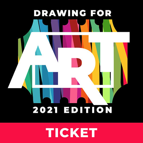 Drawing For Art 2021 Ticket