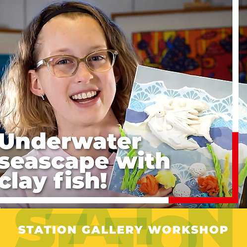 Create an Underwater Seascape with Clay Fish