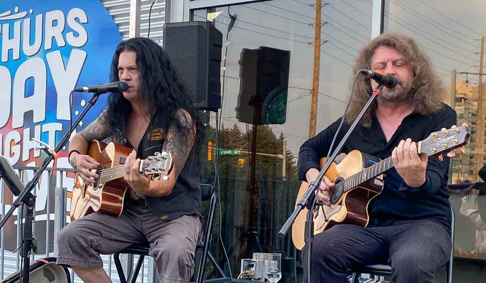Darren Smith and Shayne Thomas