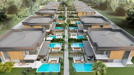 Davutlar'da Özel Havuzlu Müstakil ve İkiz Villa Projesi