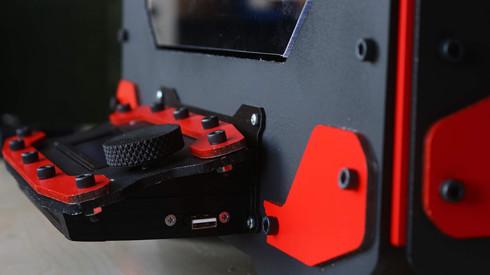 Trivend 3D yazıcı kırmızı