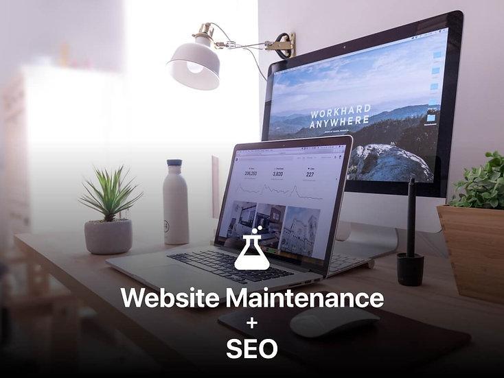 Website Maintenance + SEO