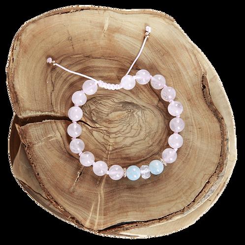 Light Pink Crystals Bracelet
