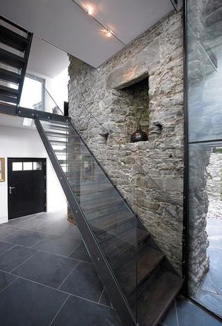 izmir taş ev iç mimari