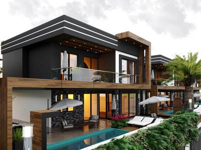 Kuşadası Karaova Mahallesi'nde Tek Müstakil Villa Projeleri