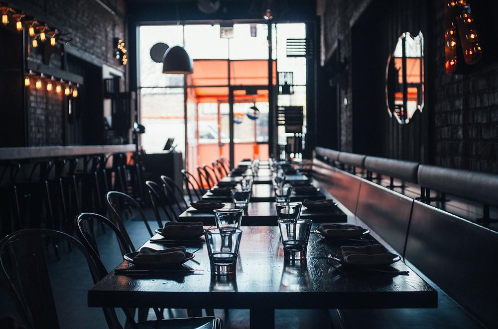 Restoran İç Mimari Dekorasyon