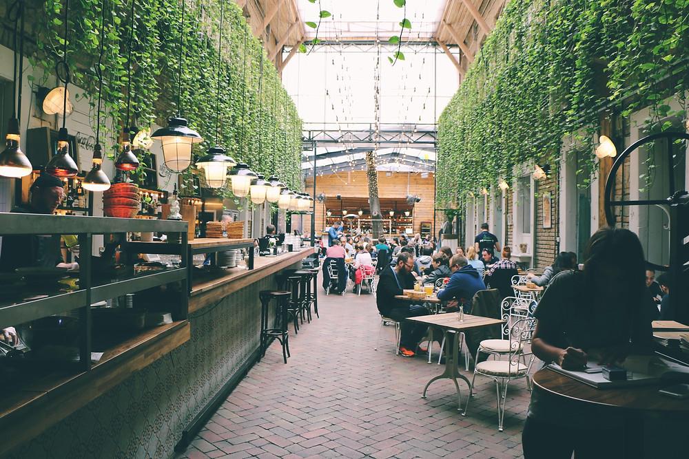 İxmir Kafe İç Mekan Tasarımı