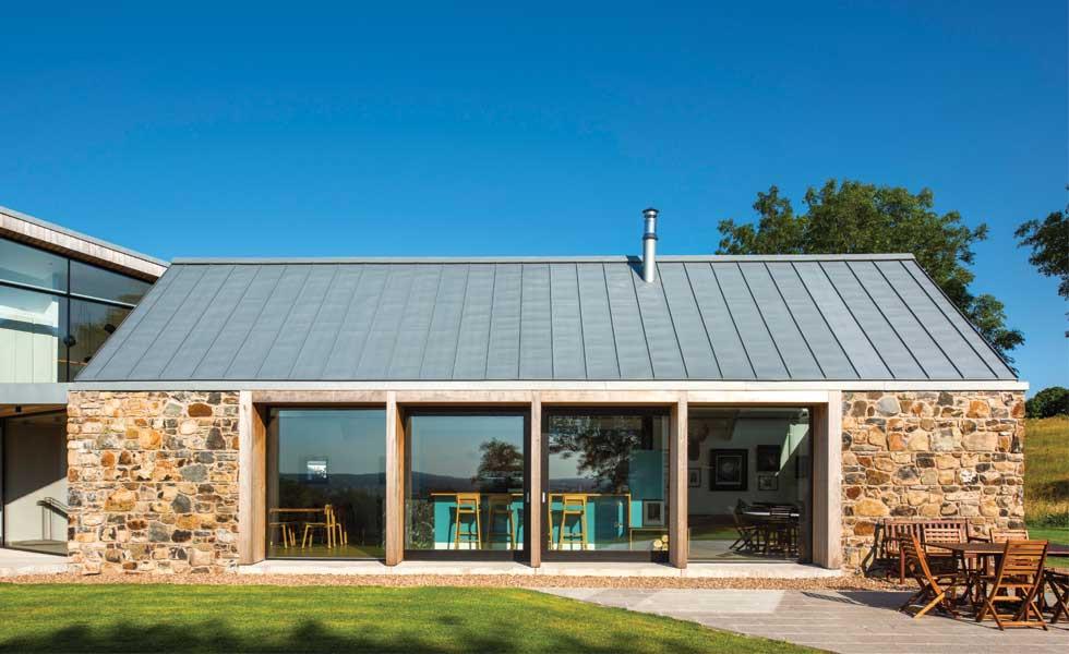 Doğal yapı malzemeleri taş evler