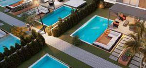 Sitede bulunan her villaya özel 23 m² özel yüzme havuzu bulunmaktadır.