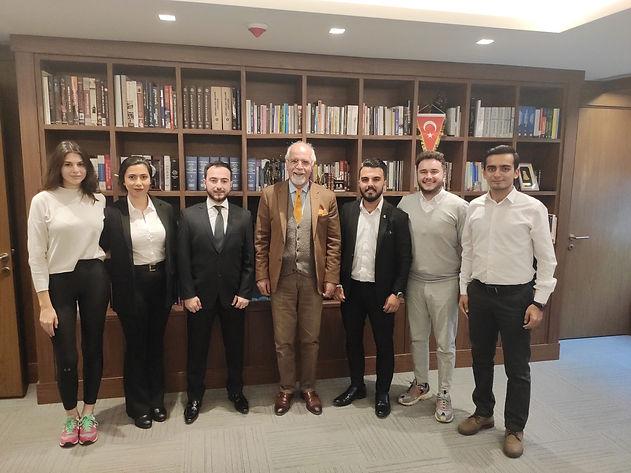 İstanbul Barosu Başkanı Sayın Av. Mehmet Durakoğlu'nu ziyaret ettik.