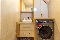 Villada bulunan 2 yatak odası için ebeveyn banyoları bulunmakta.