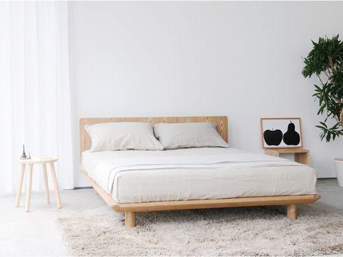 Minimalist yatak odası tasarımı