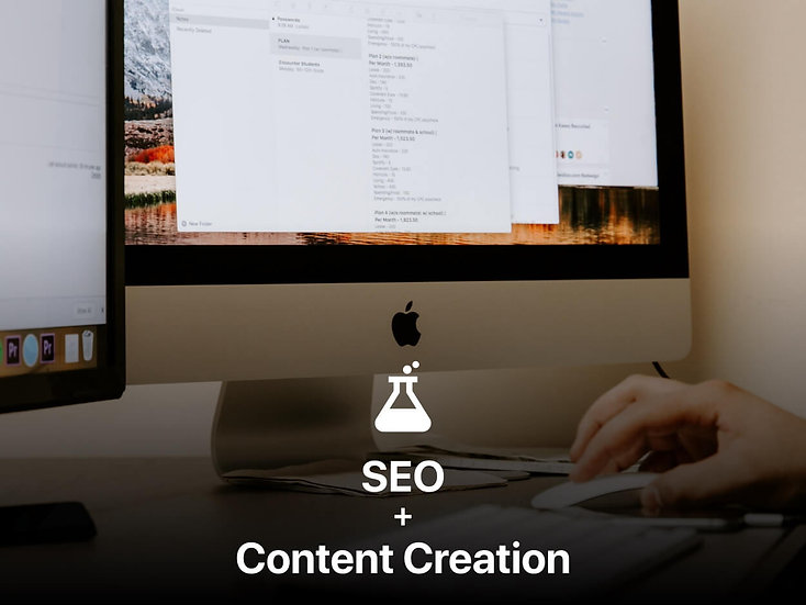 SEO + Content Creation (in 2 different languages)