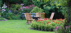 Projede bulunan her villa için geniş bahçe payları ayrılmış durumdadır.