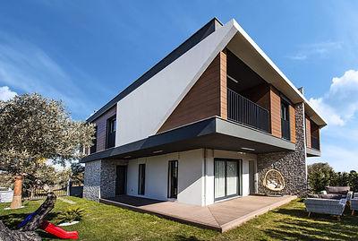 Kuşadası Davutlar'da Lüks Müstakil ve İkiz Villa Projesi