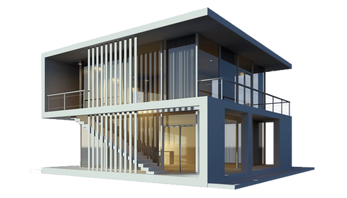 3d Dış mekan tasarımı