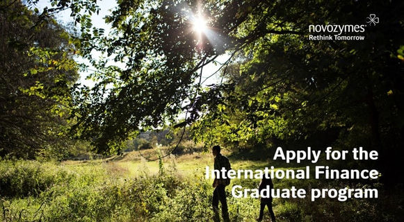 Apply for the International Finance Graduate program