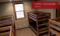 Hotel Theodore Bunkroom