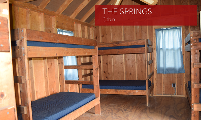 Springs Cabin Interior