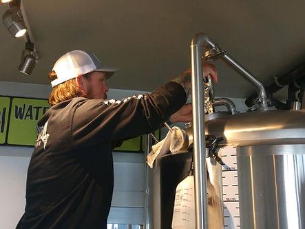 Dry Hopping in the Fermentation Vessel
