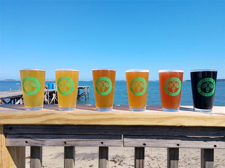 Waterman's Beach Brewery Beers