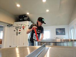 Mash Process - Waterman's Beach Brewery