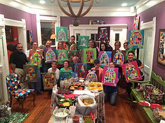 Private Paint Classes and Parties
